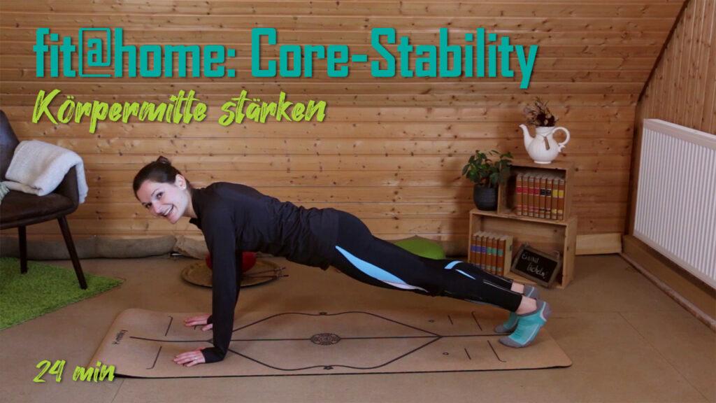 Core-Stability: Körpermitte stärken | fit@home-Workout